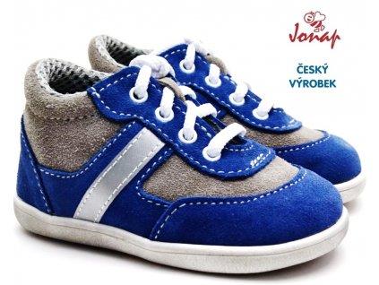 Dětské boty JONAP 051 s modrošedá