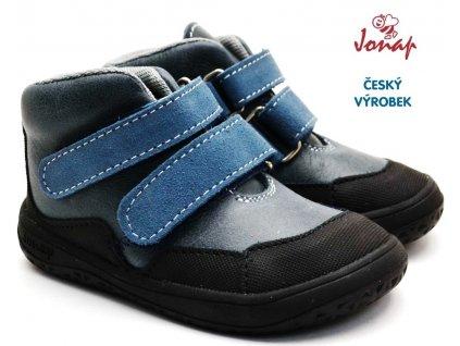Dětské barefoot boty JONAP BELLA M modrá