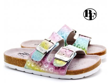 Pantofle BF BA5251119 Rainbow