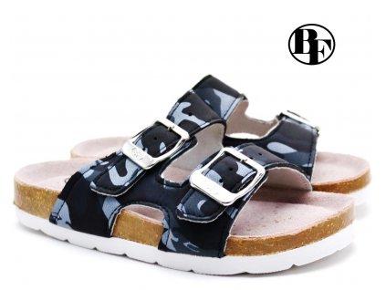 Pantofle BF BY2131698 maskáč