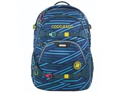 Školní batoh coocazoo ScaleRale, Zebra Stripe Blue, certifikát AGR