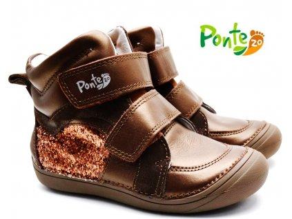 Dětské boty PONTE PP221A-DA03-867 bronze