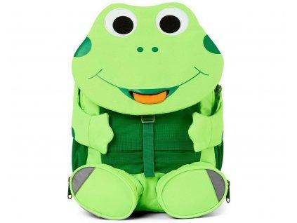 Dětský batoh do školky Affenzahn Large Friend Frog - neon green