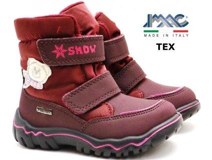 Zimní boty IMAC SPUNK Bordo