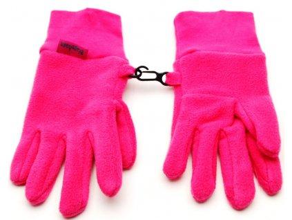 Dětské prstové rukavice Playshoes 422049 pink