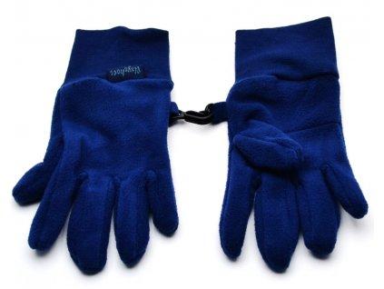 Dětské prstové rukavice Playshoes 422049 marine