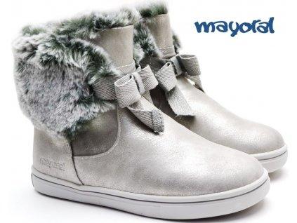 Zimní boty MAYORAL 44.237 049 Silver
