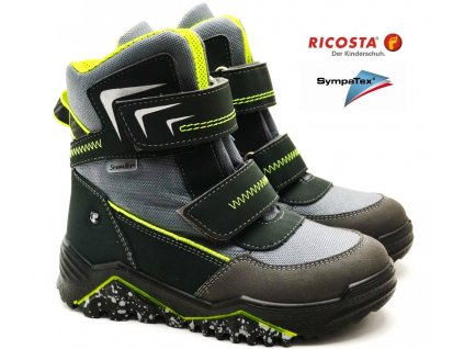 Zimní boty RICOSTA 97201 454 grigio