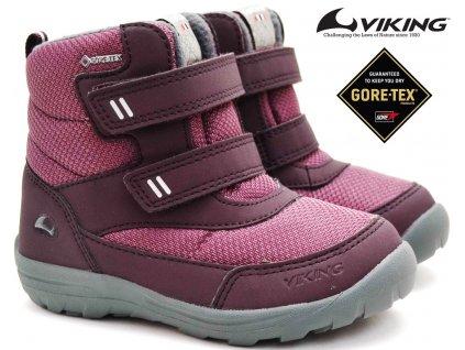 Zimní boty VIKING 3-91005 Vang 62 plum