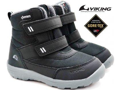 Zimní boty VIKING 3-91005 Vang 2 black