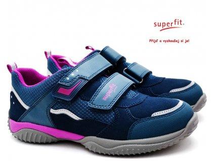 Dětské boty SUPERFIT 1-006382-8020 blau