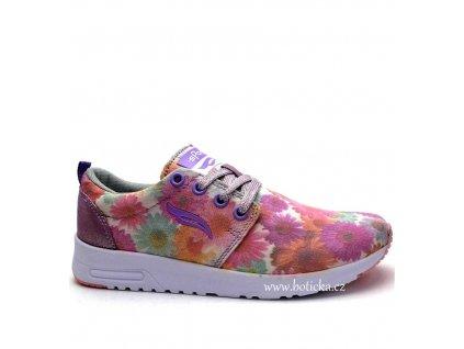 Sport obuv 259043 růžové