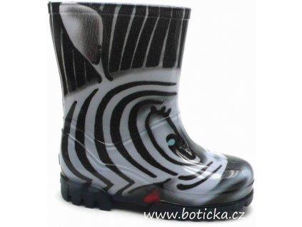 Holinky DEMAR TWISTER Print Zebra