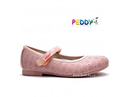 PEDDY baleríny PY5183506 růžové