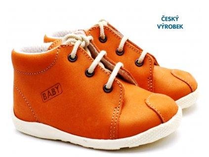 Capáčky VELETA 027 oranžové