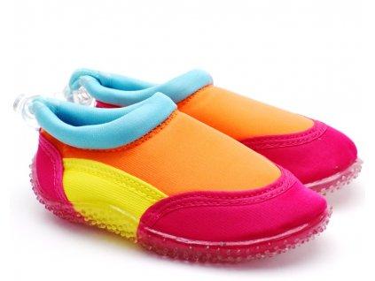 MAGNUS boty do vody - růžové