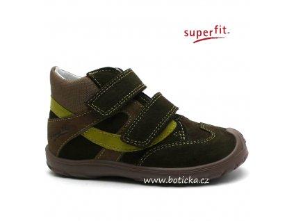 SUPERFIT obuv 3-00432-34 eucalyptus kombi