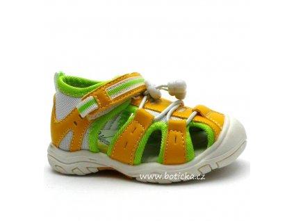 Dětské sandále MAGNUS 45-0051 žluté
