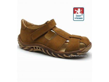 Sandále VELETA 025 hnědé