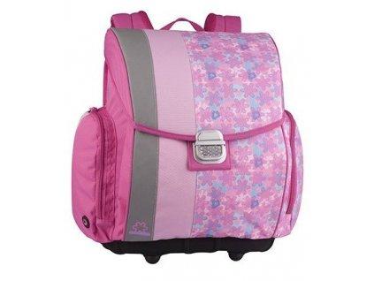 Školní aktovka BAGMASTER A 004 B pink