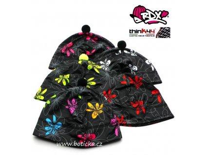 RDX čepice funkční 2582 Květy