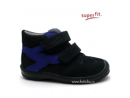 SUPERFIT 7-00325-81 dětské boty ocean kombi