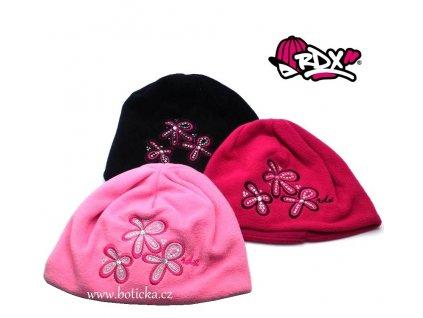RDX čepice zimní 3363 Květy