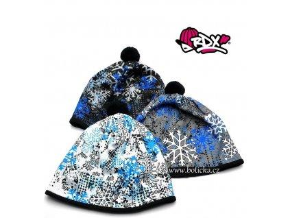 Zimní čepice RDX 3563 vločky