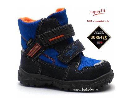 Superfit zimní obuv 1-00044-07 gore-tex