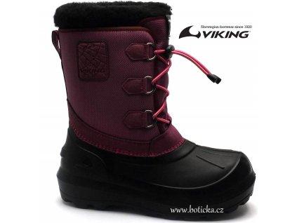 Viking sněhule ISTIND 5-27200 růžové