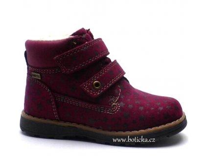 Zimní obuv SUPREMO 3730303 vínové