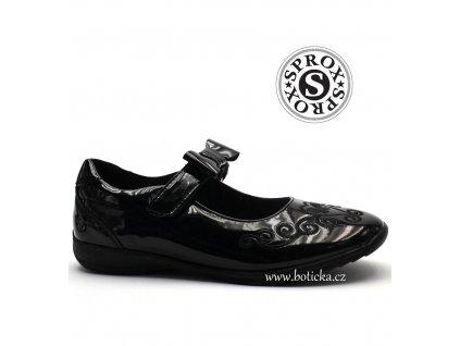 SPROX obuv 371051 lakované černé