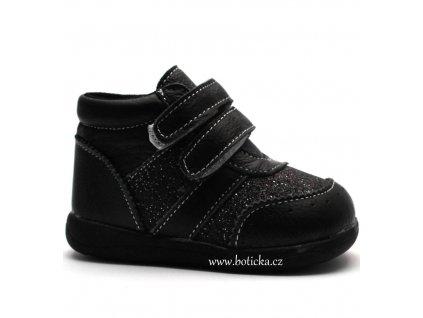Happy Bee B172014 dětské boty černé