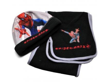 Čepice Spiderman + šála