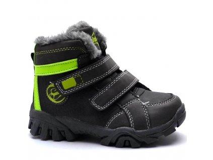 Zimní obuv Slobby 46-0333 šedé