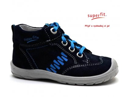 SUPERFIT 2-00343-81 ocean kombi Dětské boty