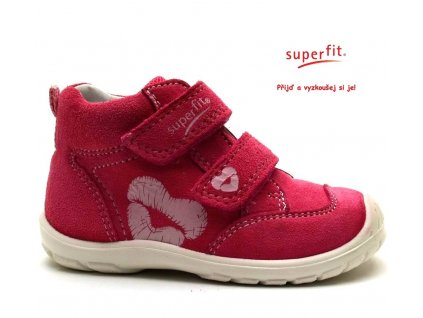 Dětské boty SUPERFIT 2-00344-64 pink kombi