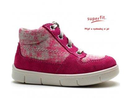 Dětské boty SUPERFIT 2-00428-64 pink kombi