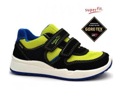 SUPERFIT 2-00319-02 schwarz kombi Dětské boty