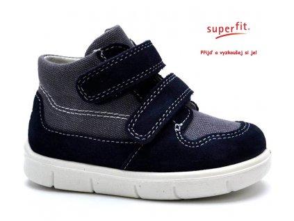 SUPERFIT 2-00429-81 ocean kombi Dětské boty