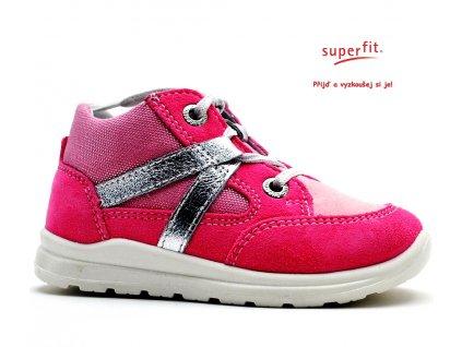SUPERFIT 2-00322-64 pink kombi Dětské boty