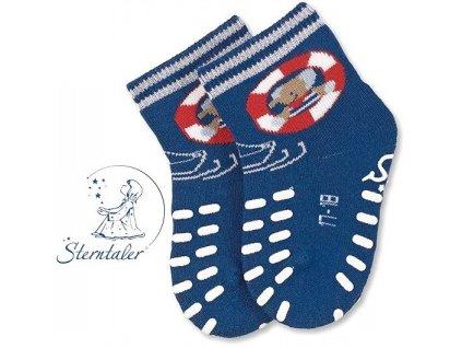 STERNTALER 8011780 Protiskluzové ponožky loď
