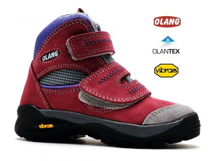 Turistické boty OLANG FOX 828 tex ciclamino