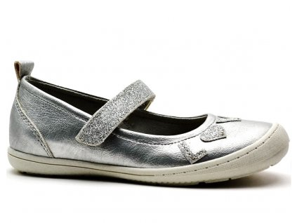 Balerínky SPROX 384691 stříbrné