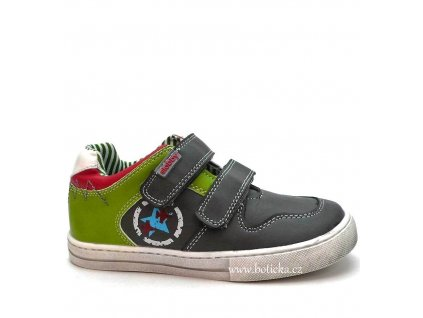 SLOBBY obuv 42-0538 zelenošedé