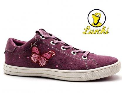 Dívčí boty LURCHI 33-13623-23 starorůžová