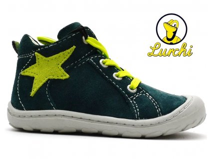 Dětské boty LURCHI 33-14442-26 zelené
