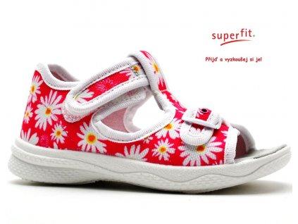 Sandále SUPERFIT 2-00292-64 pink kombi