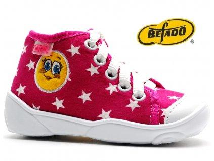 Dětské tenisky BEFADO 218P055 růžové