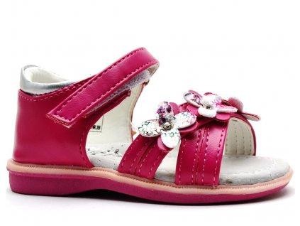 HAPPY BEE 135640 sandále růžové